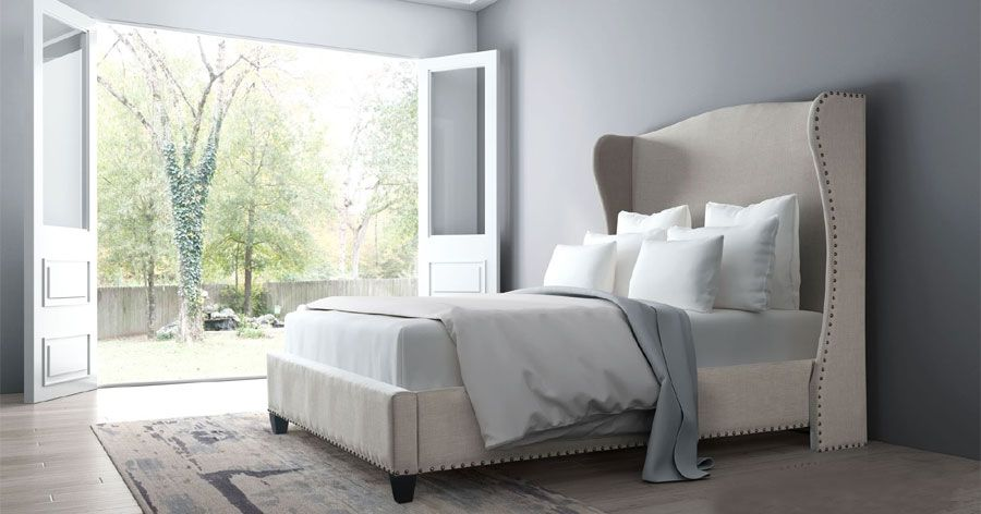 Enlightenment Bed: Add romance to your bedroom with this