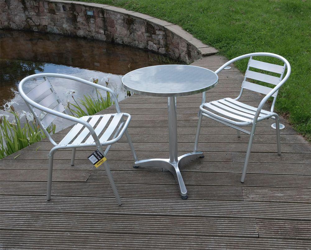 Aluminium Bistro Table And Chairs,Aluminium Lightweight 400 x 300