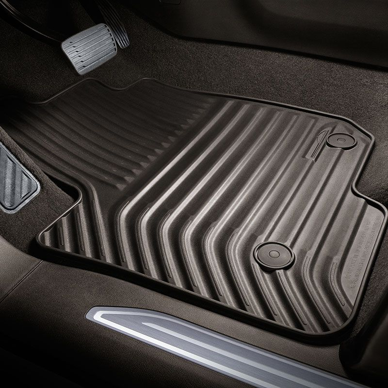 2020 Silverado 2500 Floor Mats Double Cab Dark Atmosphere Front