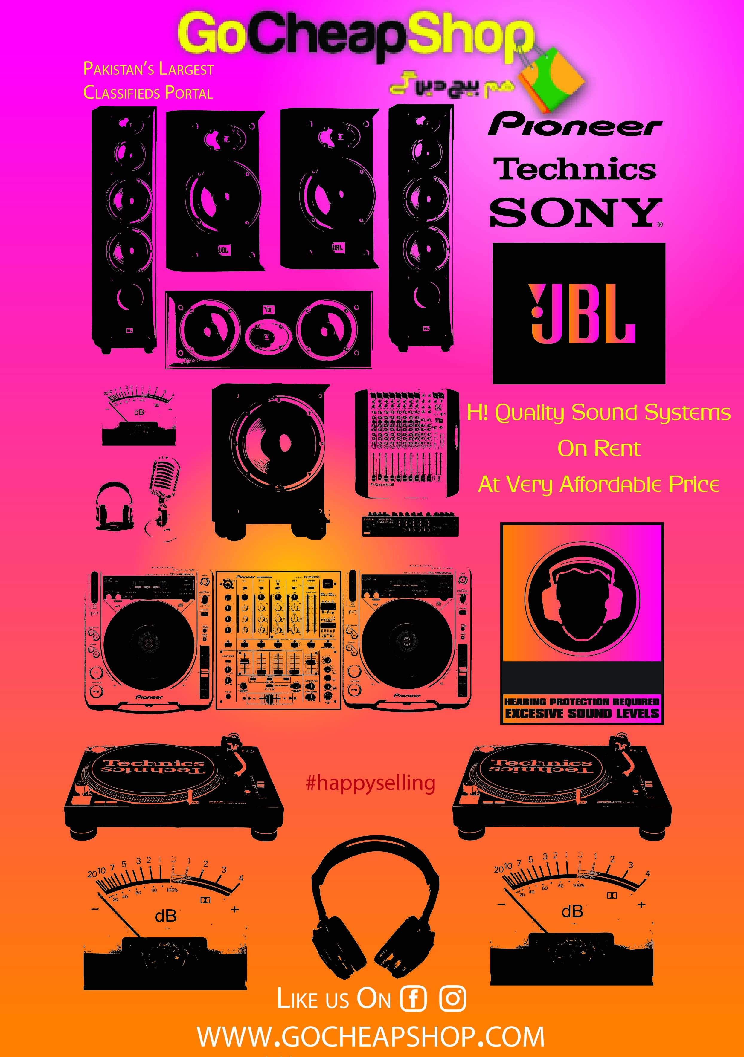 'Why to have a sound system on rent' People here in