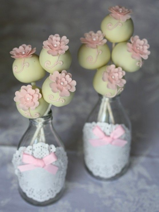 cake pop \'flower bouquet\' http://cooking-is-awesome.blogspot.com ...