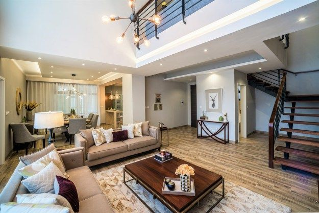 Rumaisa is  bedroom duplex designed by atreyee handique of whitesky and its located in riverside drive nairobi kenya the general style modern also pinterest house design rh