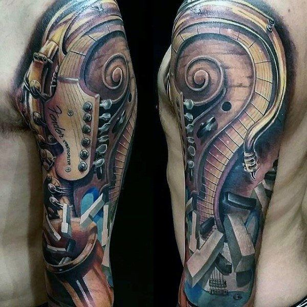 Pin By Robynn Harbin On Tattoos Tattoos Music Tattoos Sleeve Tattoos