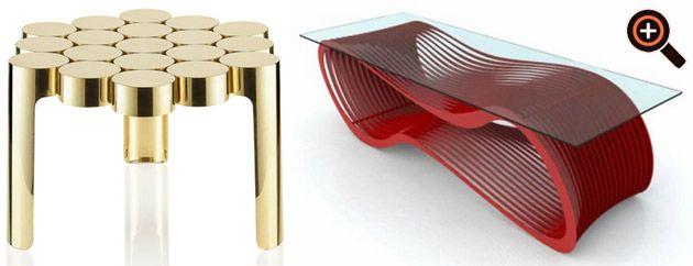 Designer Couchtisch – Möbel im Trend – moderne Wohnzimmertische ...
