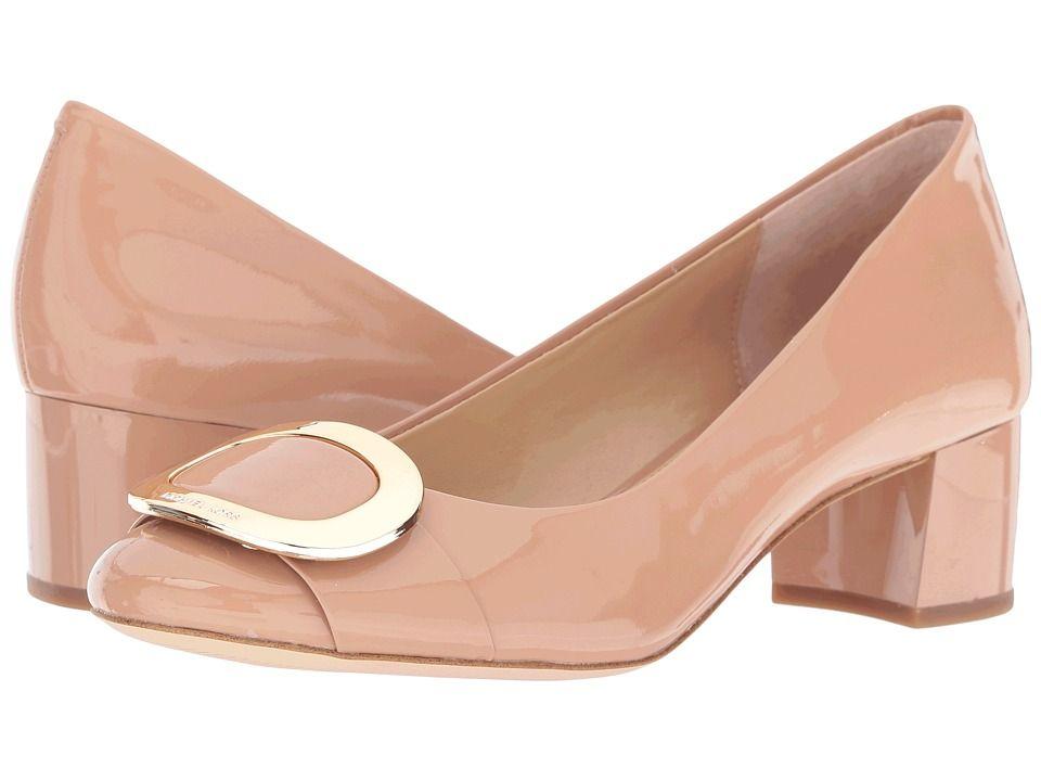 9dbe372e74f4 MICHAEL MICHAEL KORS MICHAEL MICHAEL KORS - PAULINE MID PUMP (DARK NUDE  PATENT) WOMEN S SHOES.  michaelmichaelkors  shoes