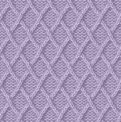 Rhomboids Cool Knitting Pattern Knitting Patterns Pinterest