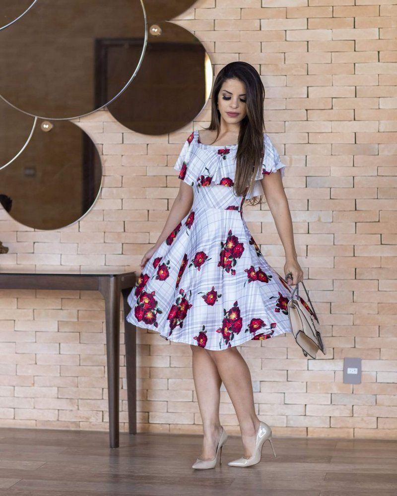4e0271695a Vestido Midi Sueli Ciganinha Floral Moda Evangélica - Moda Evangélica - Flor  de Amêndoa