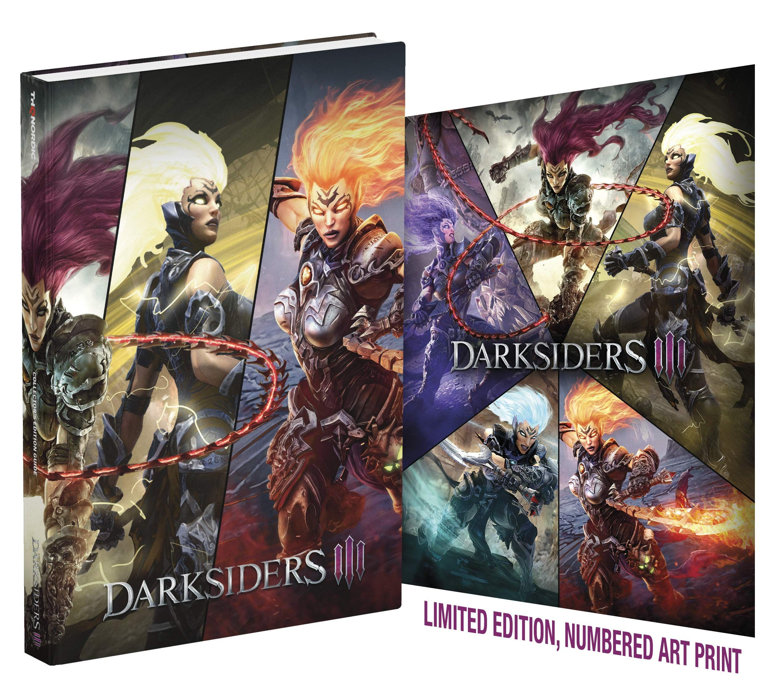 Darksiders Iii Official Collector S Edition Guide Hardcover