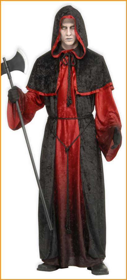 7373bec9f4 Devil Costumes Men s Halloween Devil Robe  40