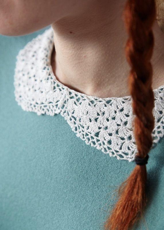 Lacy Collar Crochet Collar Crochet And Diy Crochet