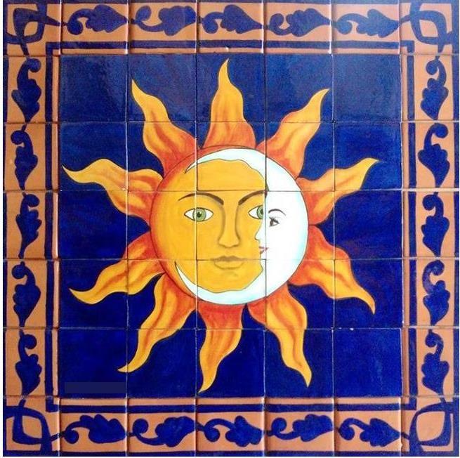 Mexican Tile Tucson Southwest Mexican Tile Murals Llc