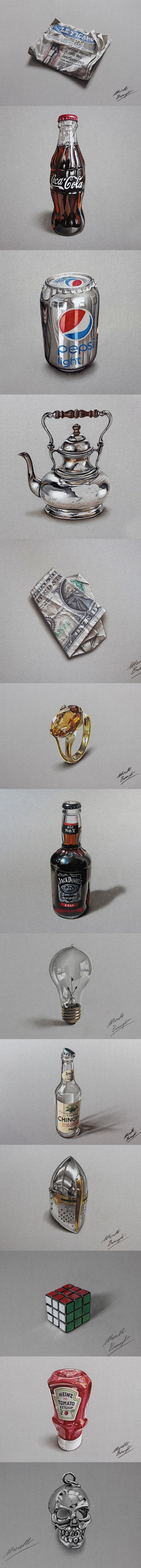 The Amazing Realistic Art of Marcello Barenghi.