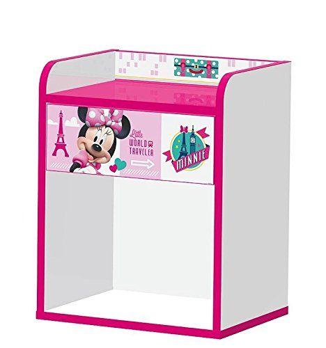 Minnie Mouse Jetset Nachttisch | Kindermöbel im Minnie Mouse Design ...