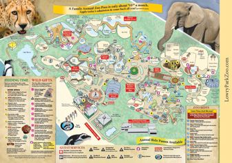 Lowery Park Zoo Tampa Fl Zoo Map Zoo Tampa