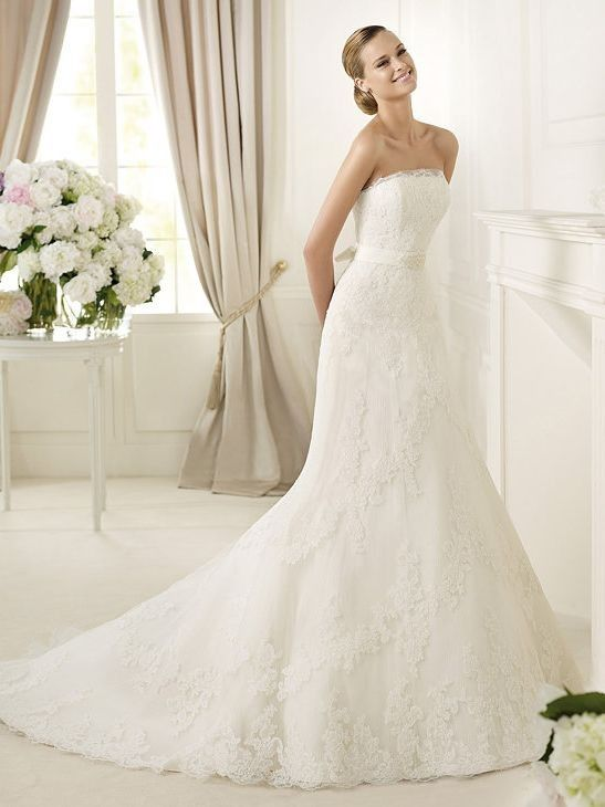 Lace wedding dresses online shop, cheap designer lace wedding dress ...