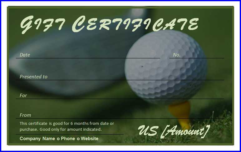 Golf Certificate Templates For Word 9 Templates Example Templates Example Gift Certificate Template Certificate Templates Gift Card Template