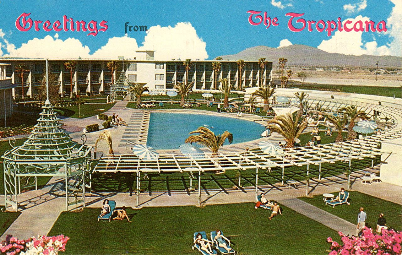The Old Tropicana Had A Nice Open Pool Area With An Uncrowded Feel To It Resor