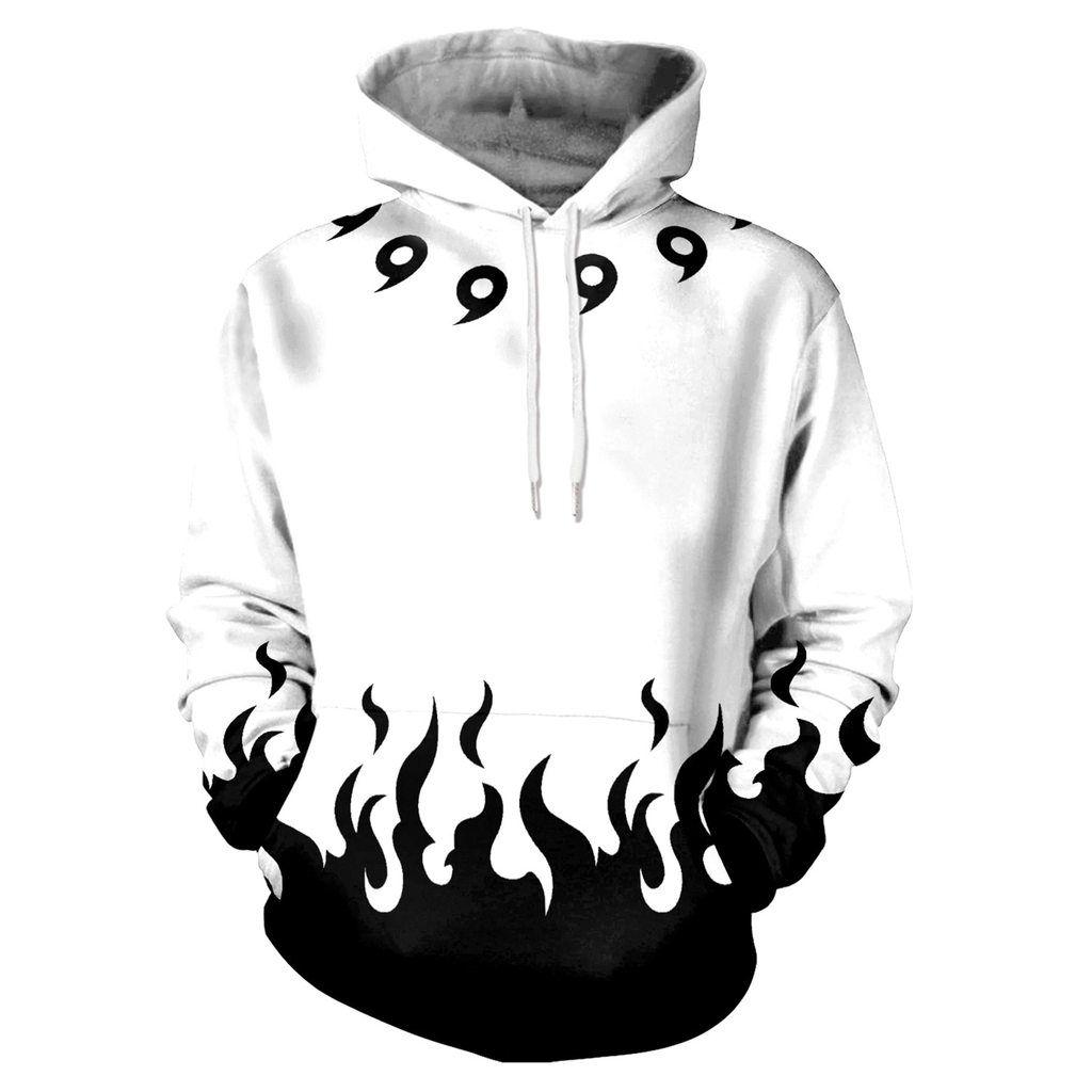 Aikooki sixpaths white naruto hoodie kanawas hoodies