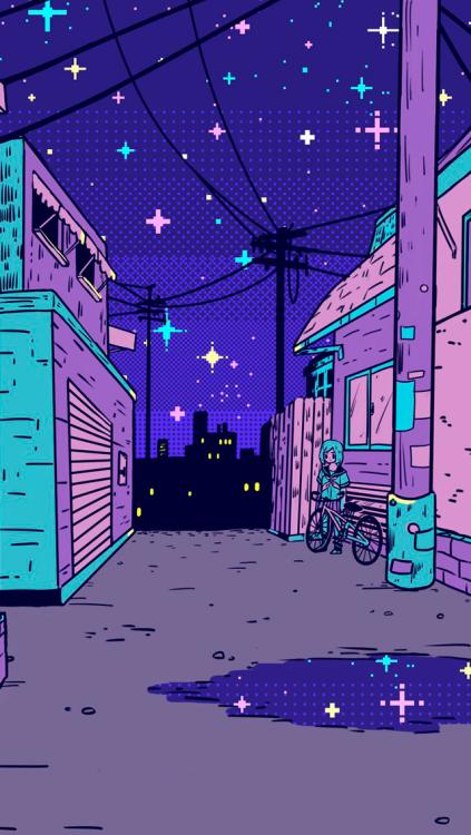 Wallpapers de Pixel Art Vaporwave MariMoon Vaporwave