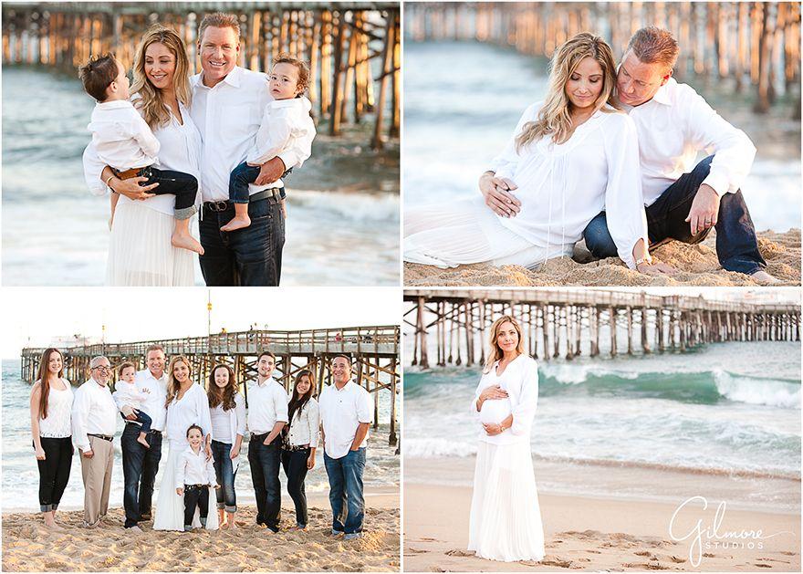 59d64fb526 Family + Maternity Portrait Photo Session at the Beach ~ Newport Beach  Photographers » Gilmore Studios ~ Newport Beach Wedding, Newborn, and.
