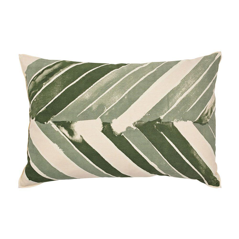 arrow housse de coussin 40x60 cm oil green broste. Black Bedroom Furniture Sets. Home Design Ideas