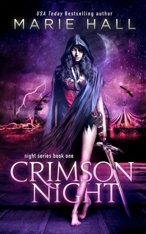 Crimson Night  Marie Hall (cover By Amanda Kelsey Of Razzdazzdesign)