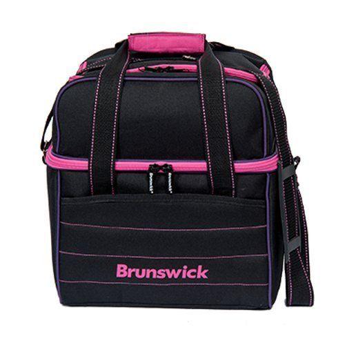 Brunswick Kooler C Single Tote, Black/Pink/Purple by Brunswick. Brunswick Kooler C Single Tote, Black/Pink/Purple.