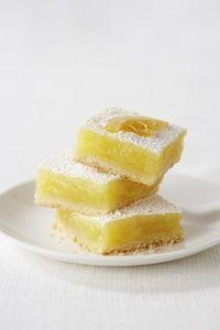 Lemon Squares with silken tofu