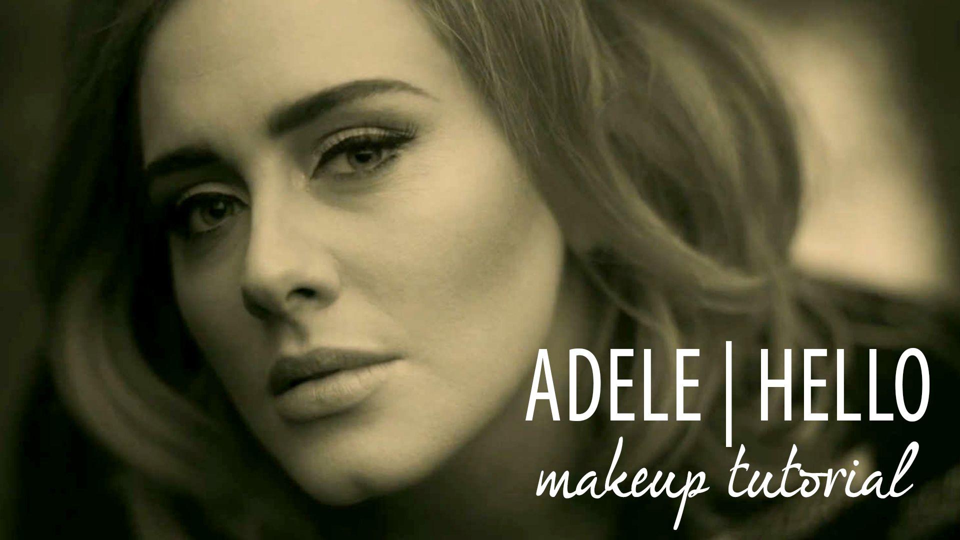 Adele – Hello | Makeup Tutorial