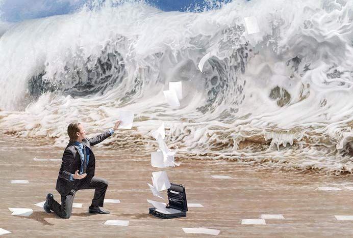 El pintor surrealista Joe Rea, imagen 5