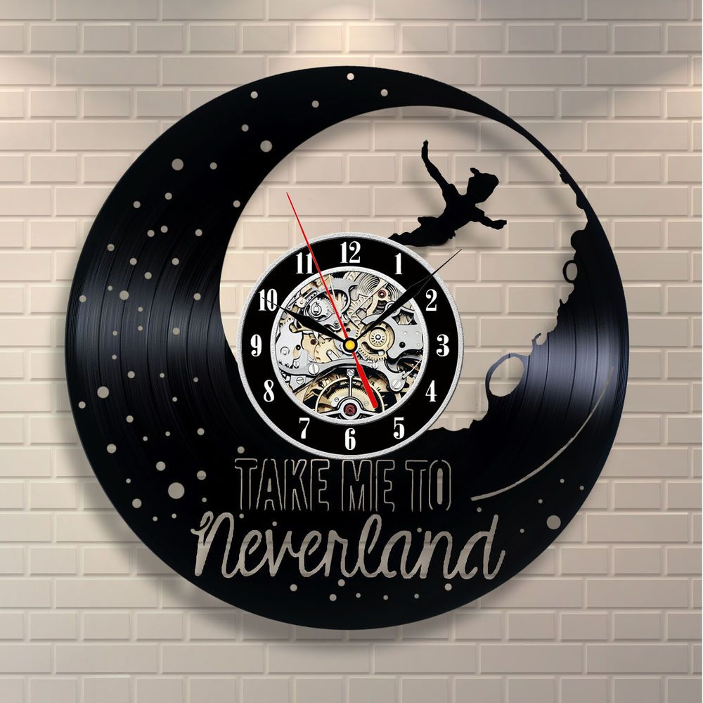 Peter pan doll movie neverland vinyl home decor wall art gift peter pan doll movie neverland vinyl home decor wall art gift animal nursery amipublicfo Image collections