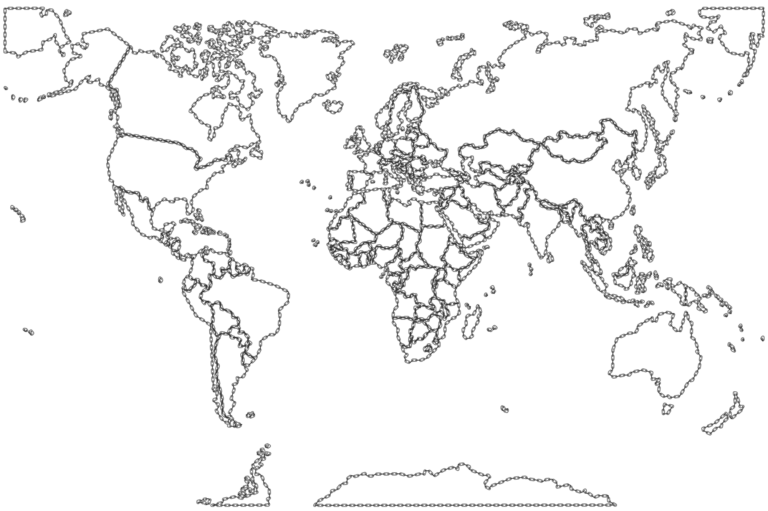 World Map Fill In Blank To Color X World Map Sketch Map World Map Outline