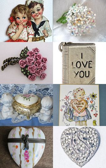 Love is in the Air ... by Lyn Zittel at AmazingFun on Etsy--Pinned with TreasuryPin.com