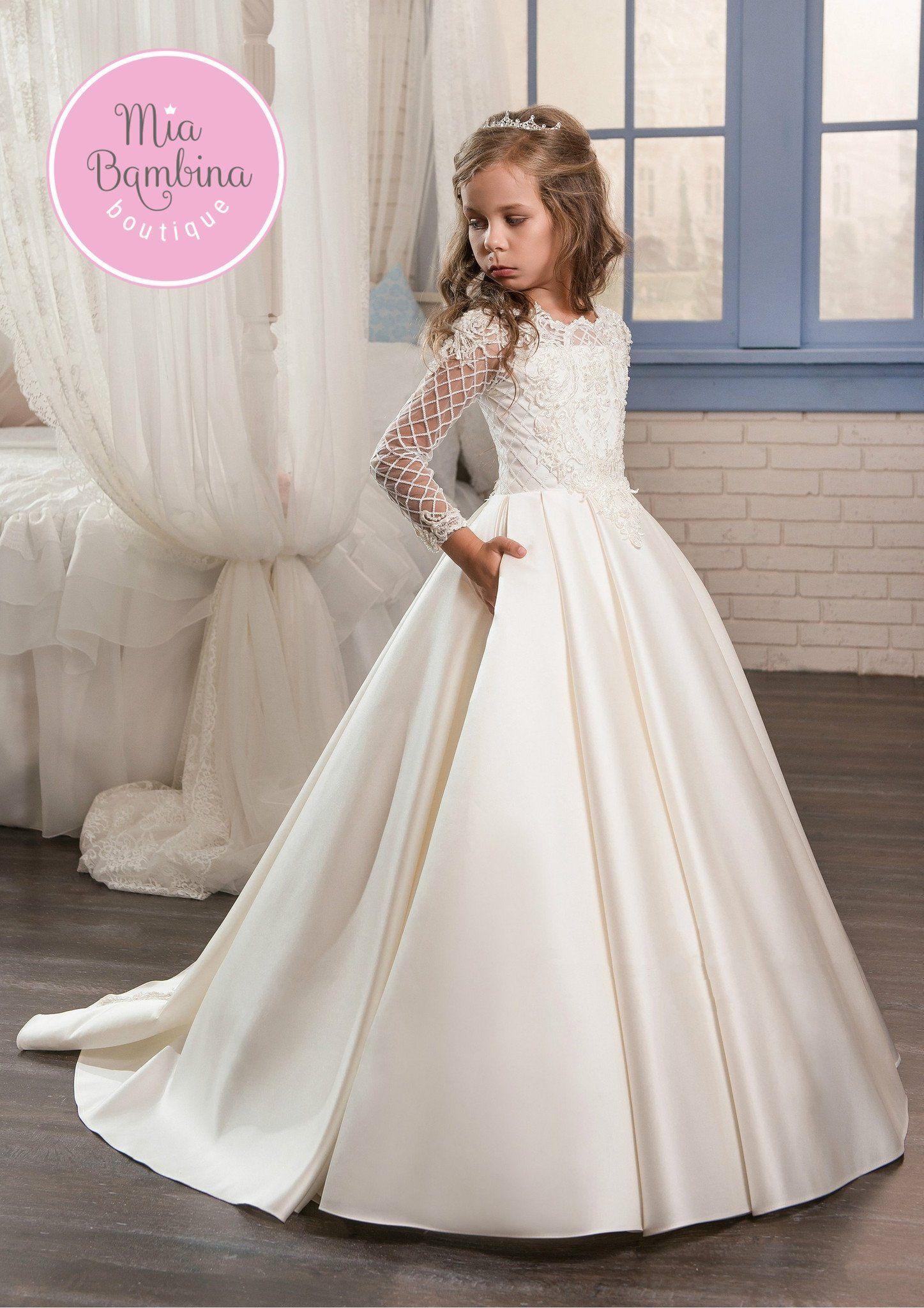 Country girl wedding dress  New York  Girls dresses Flower girl dresses and Weddings