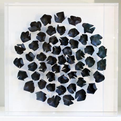 Contemporary Ceramics Centre Black Bloom Valeria Nascimento Contemporary Ceramics Ceramics Contemporary Artwork