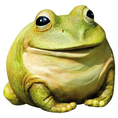 Evergreen Flag U0026 Garden Portly Frog Statue