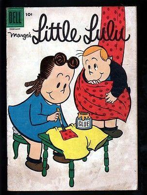 Luluzinha-Marges-104-4-0-muito-bom-1957-Dell-Tubby-John-Stanley-Irving-Tripp