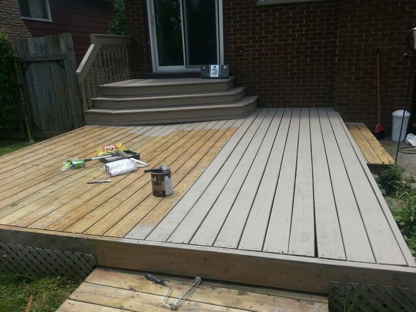 Olympic Rescue It Deck Makeover Backyard Pool Decks