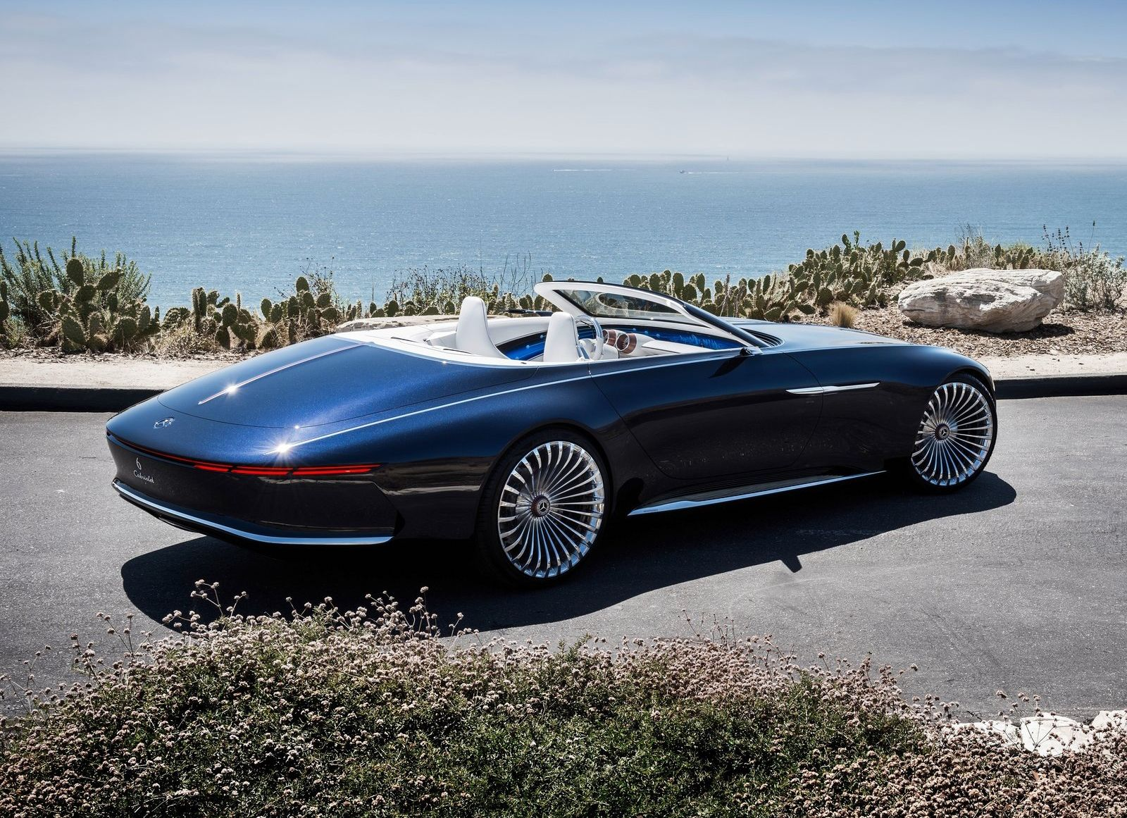 Mercedes Benz Maybach Vision 6 Cabriolet 2018 On Behance