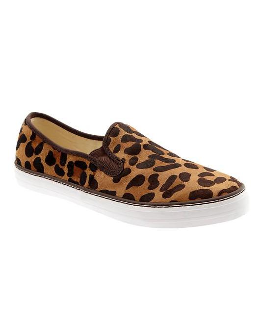 Leopard slip on, Leopard print sneakers