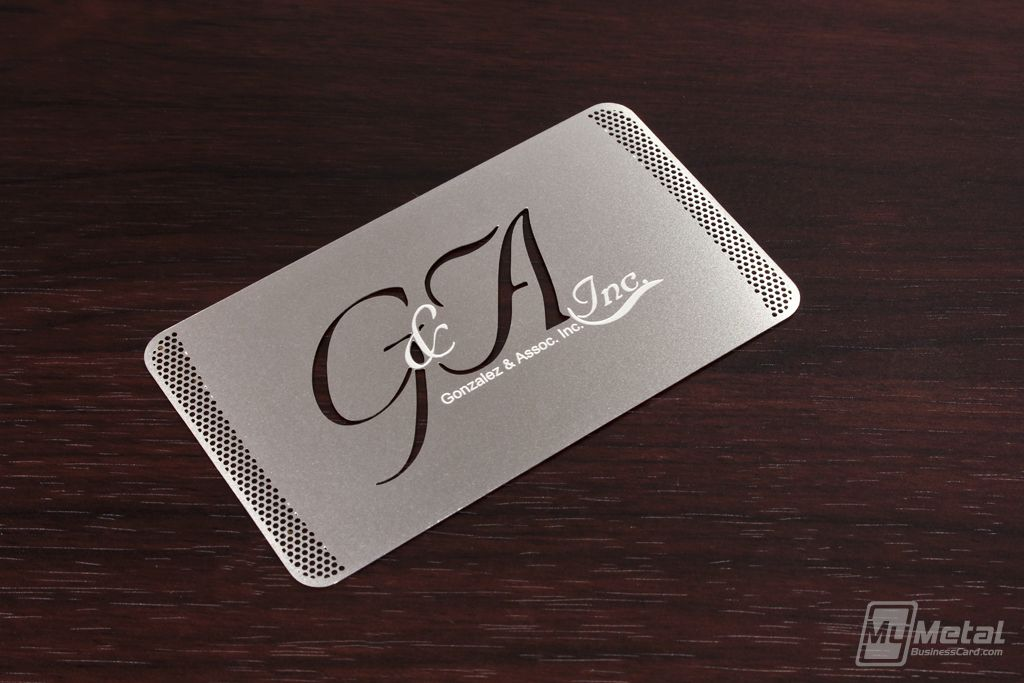 Metal Business Card by MyMetalBusinessCard.com | Stainless Steel ...
