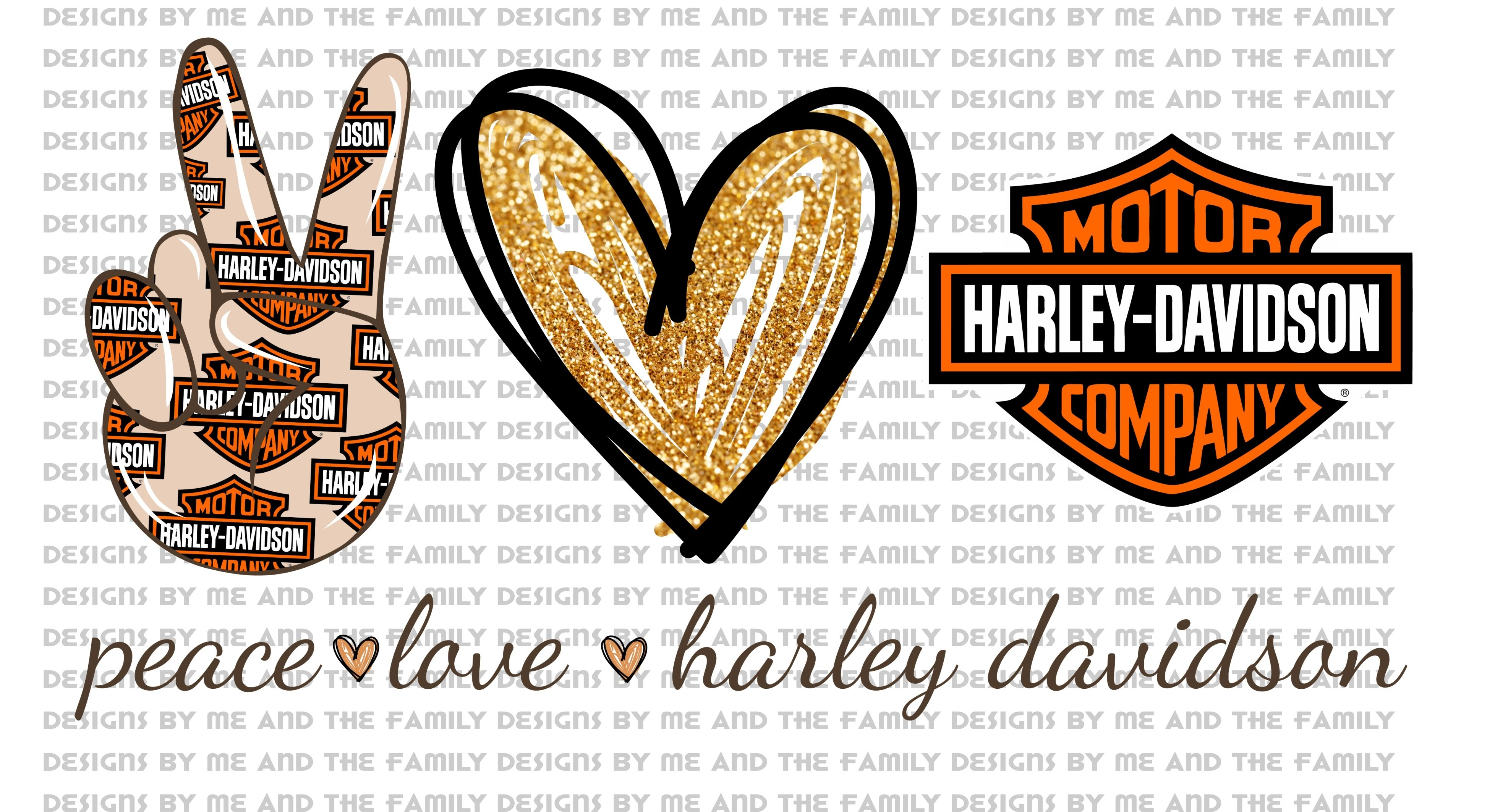 Download Peace Love Harley Davidson, All I need today is a little ...