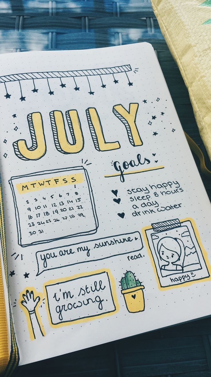 Easy Bullet Journal Ideas To Well Organize Accelerate Your