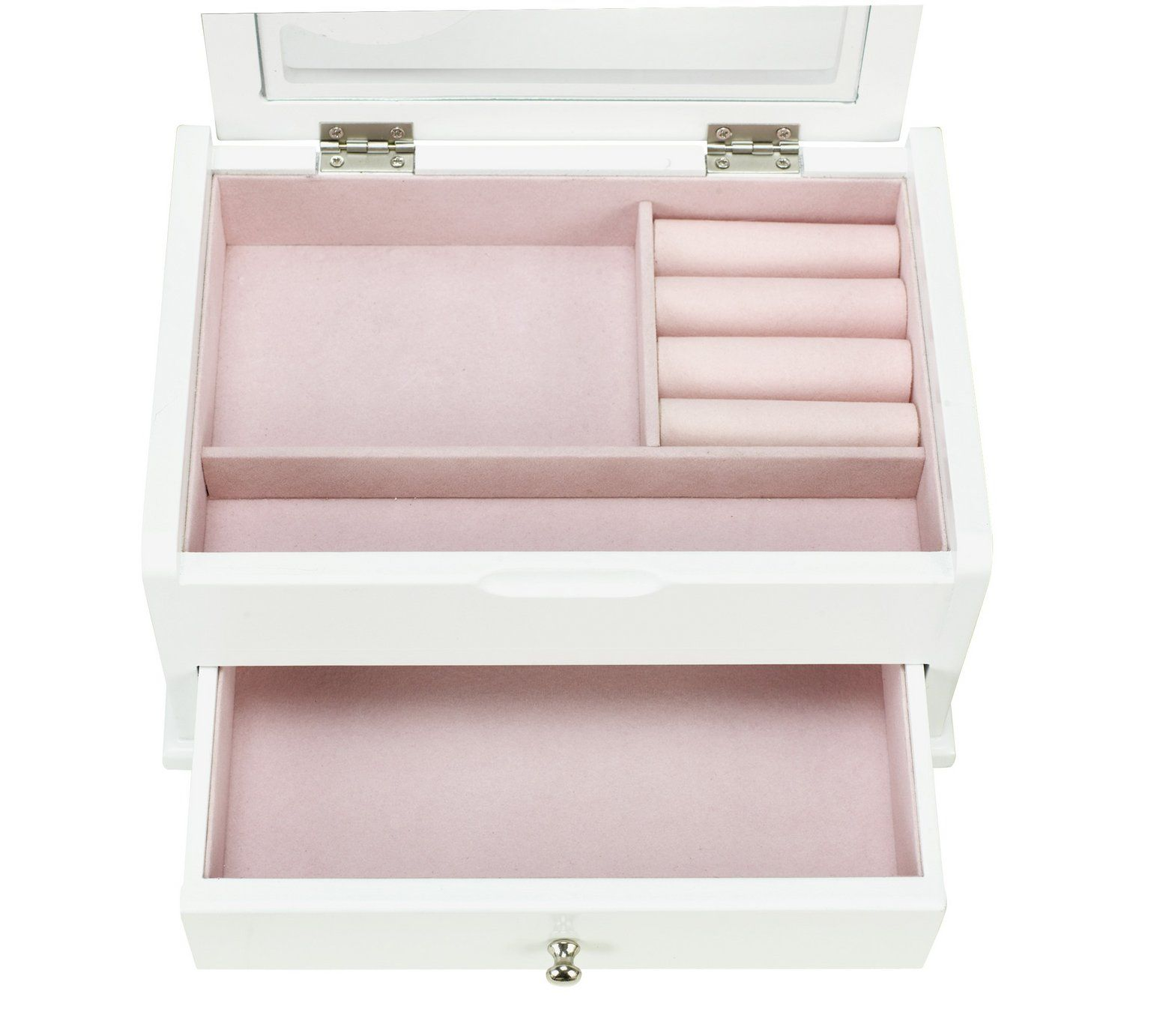 Buy White Heart Wooden Jewellery Box at Argos.co.uk, visit Argos ...