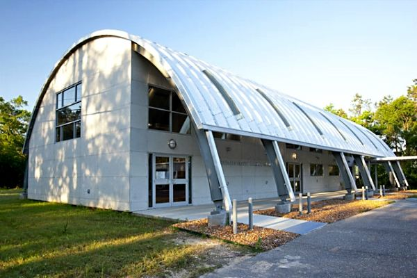Arched Metal Roof Systems Commercial Steel Prefab Curved