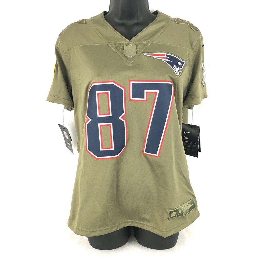 Nike NFL New England Patriots Rob Gronkowski Salute To Service Jersey  Womens M (eBay Link) a7b3675f4