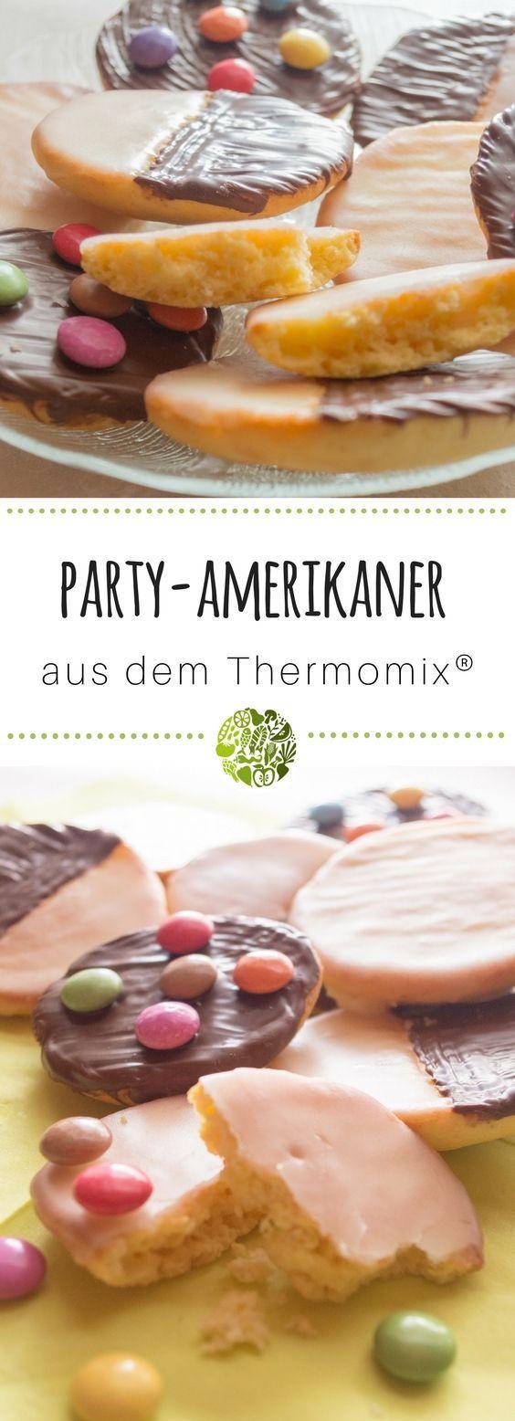 party amerikaner aus dem thermomix rezept geb ck pinterest backen kuchen und geb ck. Black Bedroom Furniture Sets. Home Design Ideas