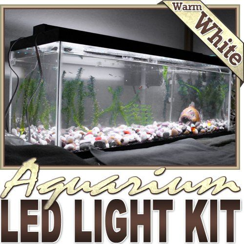 Biltek 6 ft warm white aquarium saltwater white led strip biltek 6 ft warm white aquarium saltwater white led strip lighting complete package kit lamp mozeypictures Image collections