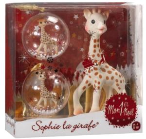 Sophie la girafe   Les activités de maman | Premier noël, Cadeaux