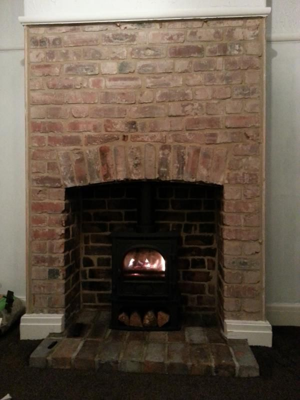Opening Up The Inglenook Woodburner Stove Progress Pics